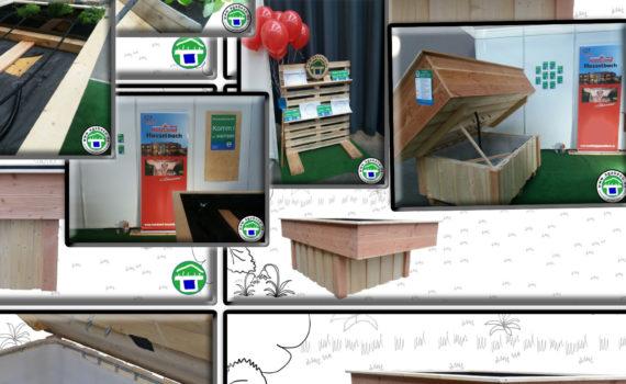 stabile hochbeete mit automatischer bew sserung tank. Black Bedroom Furniture Sets. Home Design Ideas